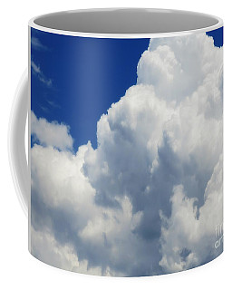 Coffee Mug featuring the photograph Nebulous Cloud Forms - 1 by Leanne Seymour