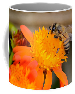 Coffee Mug featuring the photograph Carrying A Load by Debra Martz