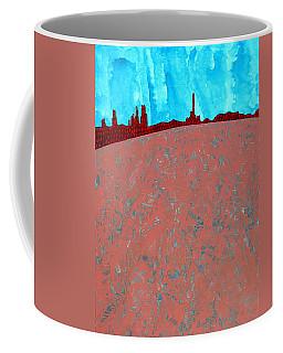 Needles And Dunes Original Painting Coffee Mug