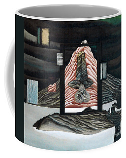 Coffee Mug featuring the painting Negative Ion by Fei A