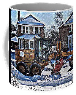 Neighbourhood Snowplough Coffee Mug