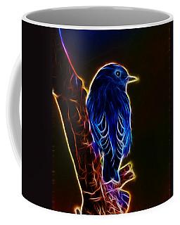Neon Bluebird Coffee Mug