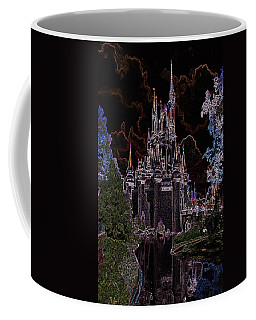 Neon Castle Coffee Mug