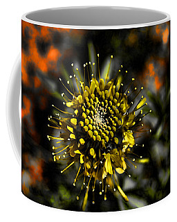 Neon Flower Coffee Mug