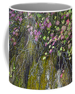 Neon Leaves No 1 Coffee Mug