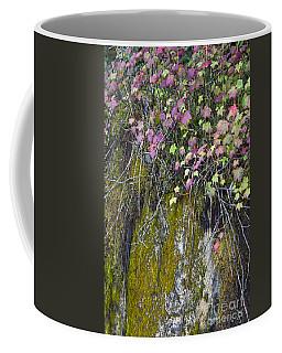 Neon Leaves No 2 Coffee Mug