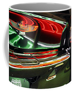 Coffee Mug featuring the photograph Neon Reflections by Shoal Hollingsworth