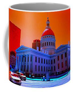 Neon Sky Coffee Mug