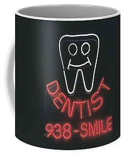 Neon Smile Coffee Mug
