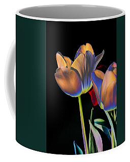 Neon Tulips Coffee Mug