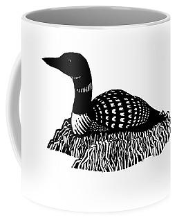 Nesting Loon Coffee Mug