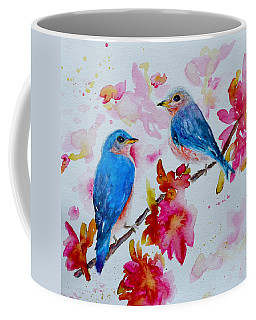 Nesting Pair Coffee Mug by Beverley Harper Tinsley