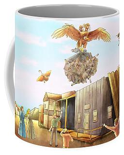 Netting The Bad Guys Coffee Mug