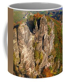 Neurathen Castle In The Saxon Switzerland Coffee Mug