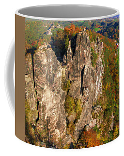 Neurathen Castle In The Saxon Switzerland Coffee Mug