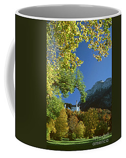 Neuschwanstein Castle Bavaria In Autumn Coffee Mug by Rudi Prott