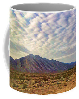 Coffee Mug featuring the painting Nevada Gold by Steven Richardson