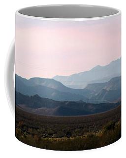 Nevada Sunset Coffee Mug by Kay Novy