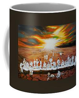 Never Ending Last Supper Coffee Mug by Raymond Perez
