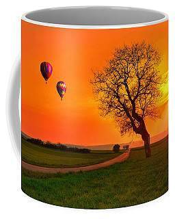 Never Ending Road Coffee Mug by Midori Chan