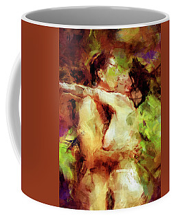Never Let Me Go Coffee Mug by Kurt Van Wagner