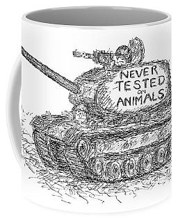 Never Tested On Animals Coffee Mug
