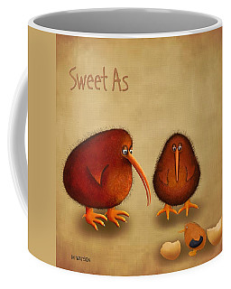 New Arrival. Kiwi Bird - Sweet As - Boy Coffee Mug