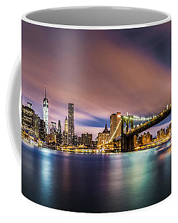 New Dawn Over New York Coffee Mug by Mihai Andritoiu