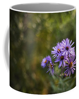 New England Asters Coffee Mug