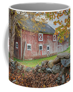 New England Barn Coffee Mug