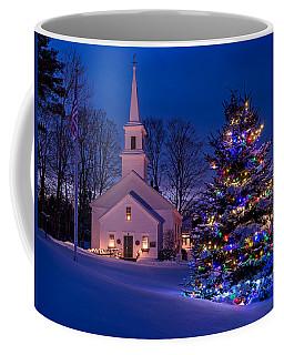 New England Christmas Coffee Mug