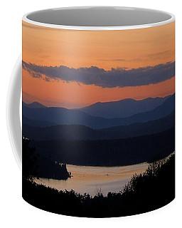 New Hampshire Sunset Coffee Mug by Mim White