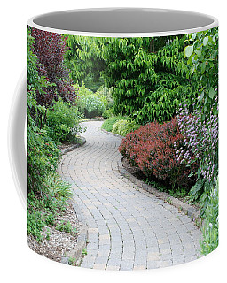 Coffee Mug featuring the photograph Frelinghuysen Arboretum Path by Richard Bryce and Family