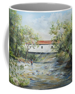 New Jersey's Last Covered Bridge Coffee Mug