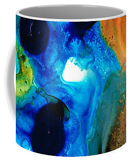 New Life - Abstract Landscape Art Coffee Mug