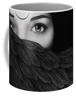 New Moon Coffee Mug by Pat Erickson