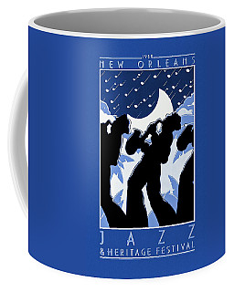 New Orleans Vintage Jazz And Heritage Festival 1980 Coffee Mug