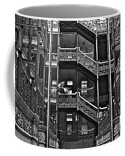 New Photographic Art Print For Sale Bradbury Building Downtown La Coffee Mug