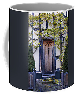 New Photographic Art Print For Sale Doorway 2 In Medieval Lavenham Coffee Mug