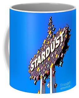 Original Stardust Casino Neon In Las Vegas Pop Art Coffee Mug