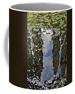 Reflections Amongst The Lily Pads Coffee Mug