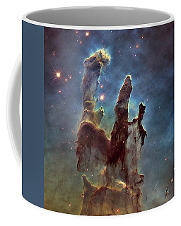 New Pillars Of Creation Hd Square Coffee Mug