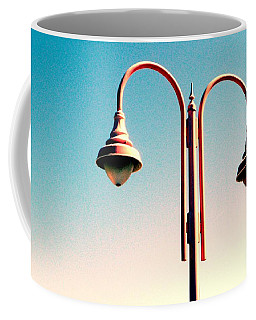 Beach Lamp Post Coffee Mug