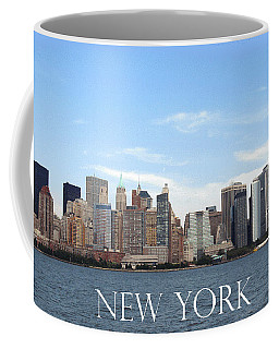 Coffee Mug featuring the photograph New York As I Saw It In 2008 by Ausra Huntington nee Paulauskaite