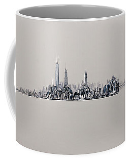 New York City 2013 Skyline 20x60 Coffee Mug