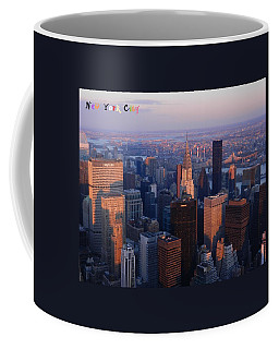 New York City At Dusk Coffee Mug