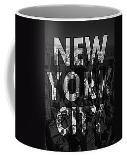 New York City - Black Coffee Mug