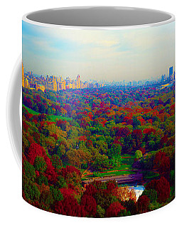 New York City Central Park South Coffee Mug