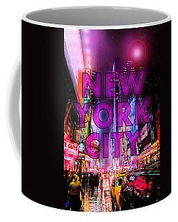 New York City - Color Coffee Mug