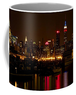 Coffee Mug featuring the photograph New York City by Dave Files